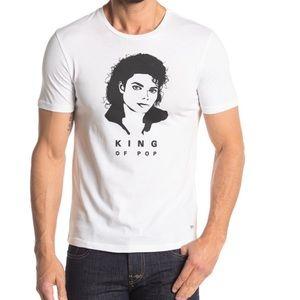 Boss King Of Pop Michael Jackson Tee/Sz:XL/NWT